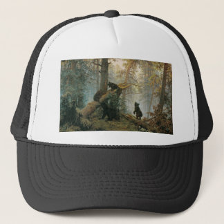 Morning in a Pine Forest Trucker Hat