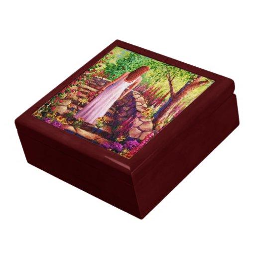 Morning In Her Garden Keepsake Jewelry Box