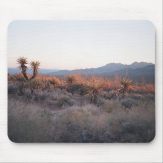 Morning in Mojave Mouse Pad