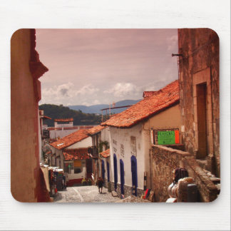 Morning In Taxco Street Mouse Pad