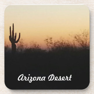 Morning in the Arizona Desert Beverage Coaster