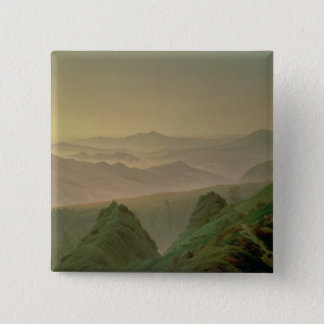 Morning in the Mountains Button