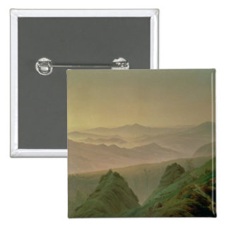 Morning in the Mountains Pinback Buttons
