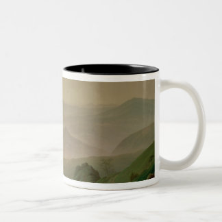 Morning in the Mountains Two-Tone Coffee Mug