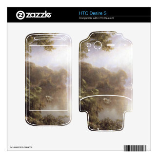 Morning in the tropics by Frederic Edwin Church HTC Desire S Skins