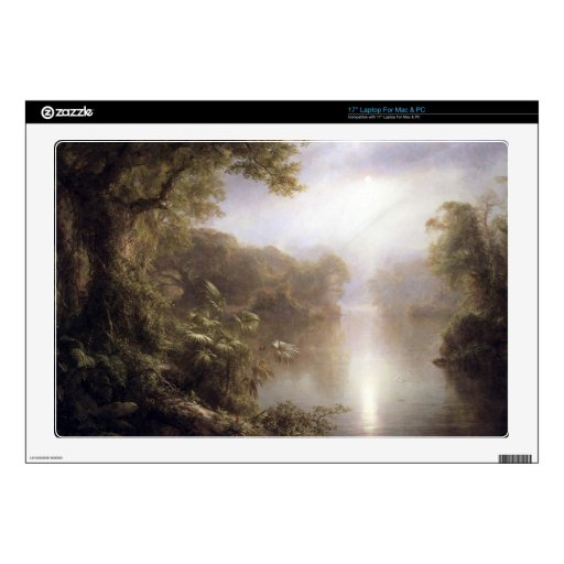 Morning in the tropics by Frederic Edwin Church Skins For Laptops