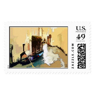 Morning in Venice Postage