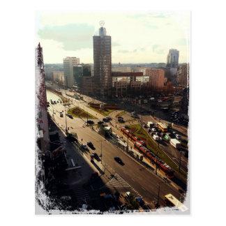 Morning in Warsaw Postcard