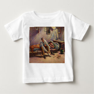 Morning, Interior by Maximilien Luce in 1890 Baby T-Shirt