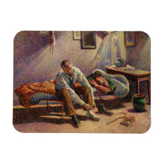 Morning, Interior by Maximilien Luce in 1890 Magnet