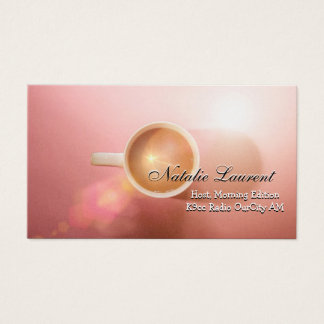 Morning Java Elegant  Professional Business Business Card