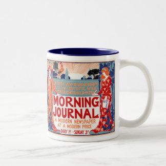 Morning Journal –  Louis Rhead Coffee Mug