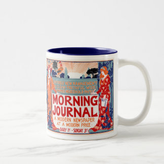 Morning Journal –  Louis Rhead Two-Tone Coffee Mug