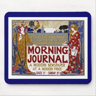 Morning Journal Mouse Pad