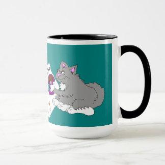 Morning Kitty Kibble Mug