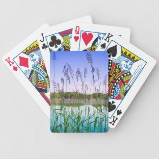 Morning Lake Light Poker Deck