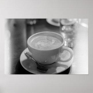 Morning Latte Poster