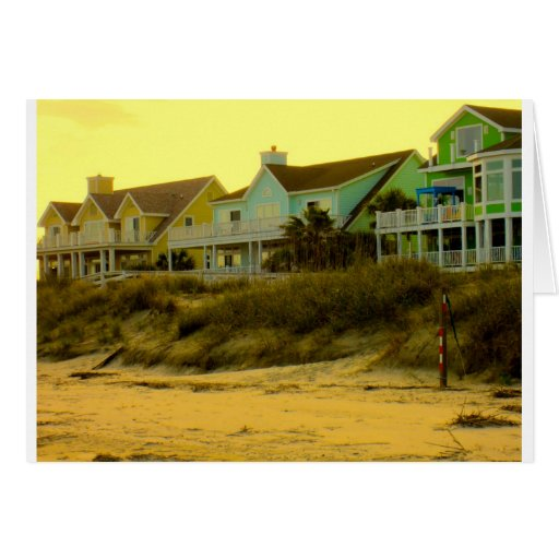 Morning Light at Isle of Palms Greeting Cards
