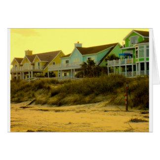 Morning Light at Isle of Palms Greeting Card