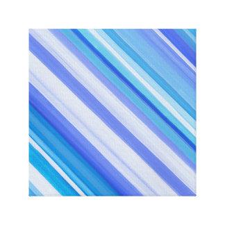 morning light blue canvas print