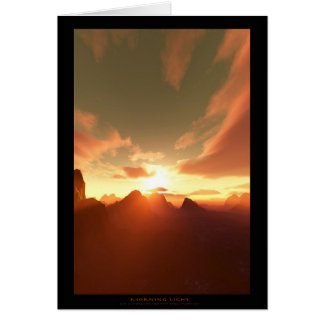 Morning Light (card) Card