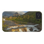 Morning light greets Swiftcurrent Falls in the Case-Mate iPhone 4 Case