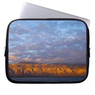 Morning light greets the Sierra de la Giganta Computer Sleeves