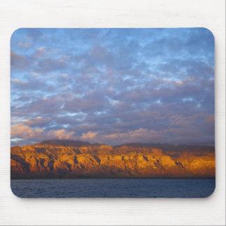 Morning light greets the Sierra de la Giganta Mouse Pad