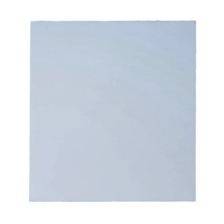 MORNING LIGHT (pale blue fade) ~ Notepad