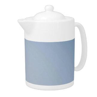MORNING LIGHT (pale blue fade) ~ Teapot