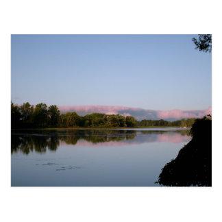 Morning light postcard