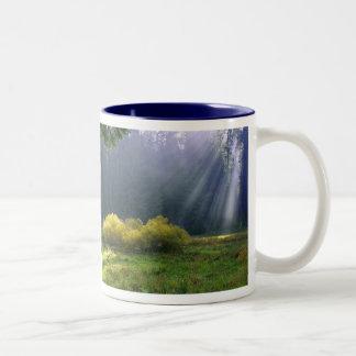 Morning Light Two-Tone Coffee Mug