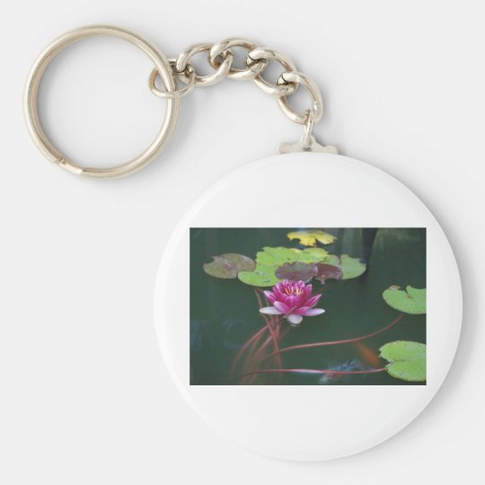 Morning Lily Keychain