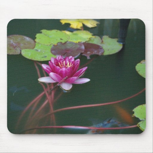 Morning Lily Mouse Pad