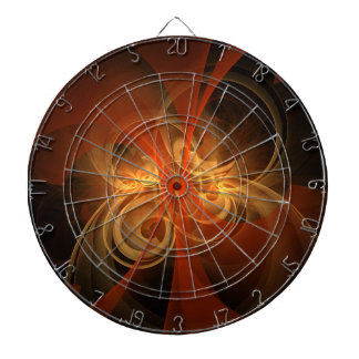 Morning Magic Abstract Art Dart Boards