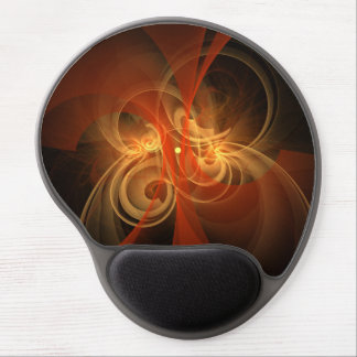 Morning Magic Abstract Art Gel Mousepad