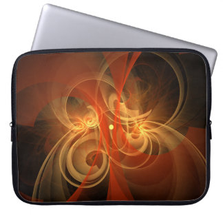 Morning Magic Abstract Art Laptop Sleeve