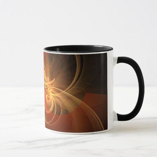 Morning Magic Abstract Coffee Mug