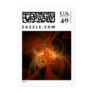 Morning Magic Abstract Postage Stamp