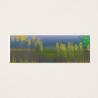 MORNING MARSH VIEW MINI BUSINESS CARD
