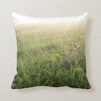 Morning Meadow with Thistles American MoJo Pillows