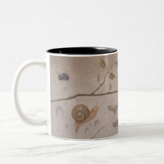 Morning Meditation Two-Tone Coffee Mug