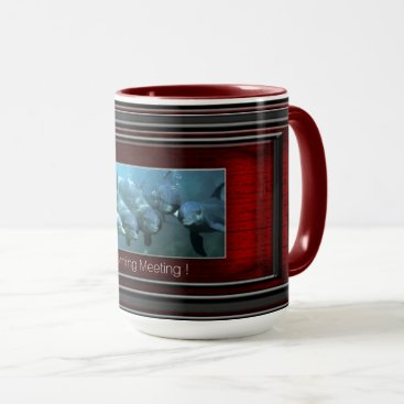 Beach Themed Morning meeting mug