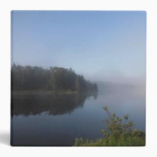 Morning Mist 3 Ring Binder