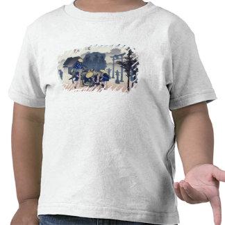 Morning Mist at Mishima T Shirt