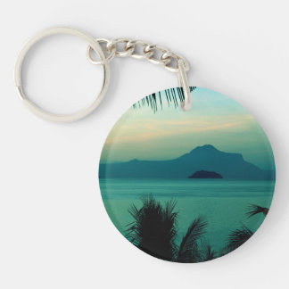 Morning Mist Background 2 Key Chains