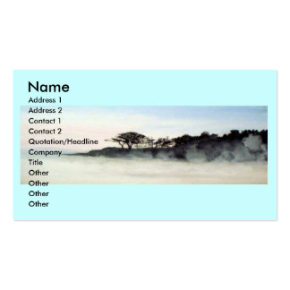 Morning Mist Business Cards