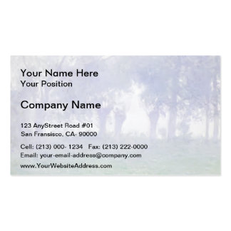 Morning Mist by Guy Rose Business Card Template