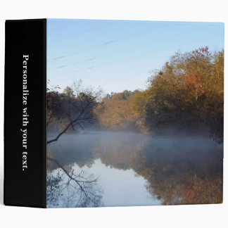 Morning Mist - Contentnea Creek 3 Ring Binder
