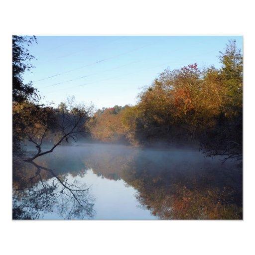 Morning Mist - Contentnea Creek, NC Photo Print